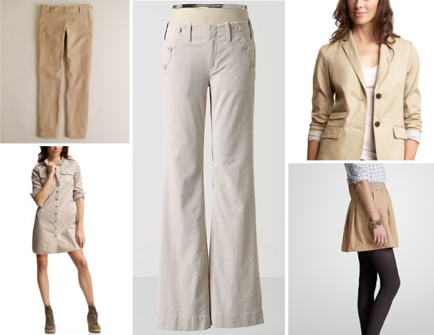 Gap, J.Crew, and Anthropologie