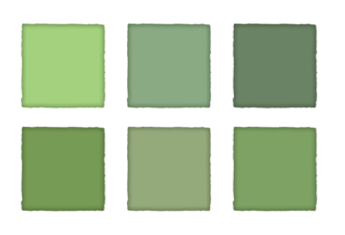 color of the month army green dressed in orange