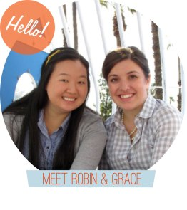 Meet Robin and Grace from Dressed in Orange