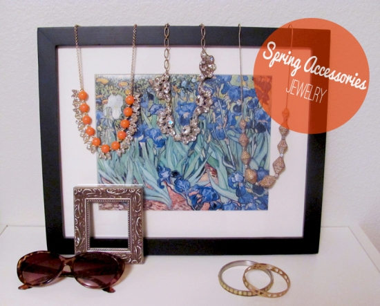 Spring Jewelry, via Dressed In Orange