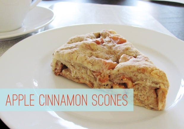 Apple Cinnamon Scones via Dressed In Orange
