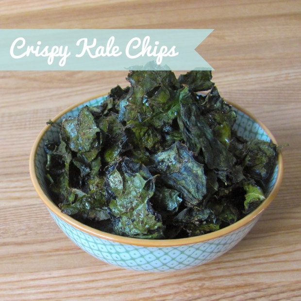 Crispy Kale Chips via Dressed In Orange
