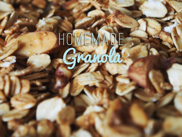 Homemade Granola, via Dressed In Orange