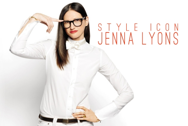 Currently channeling: Jenna Lyons