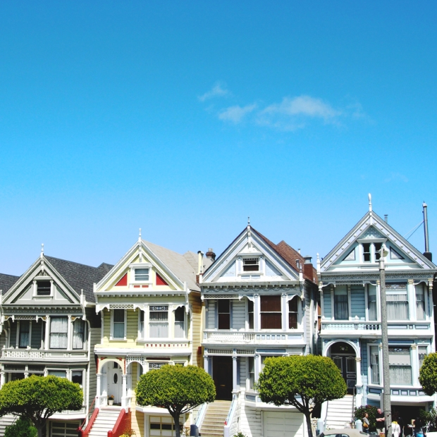 Painted Ladies, via Dressed In Orange