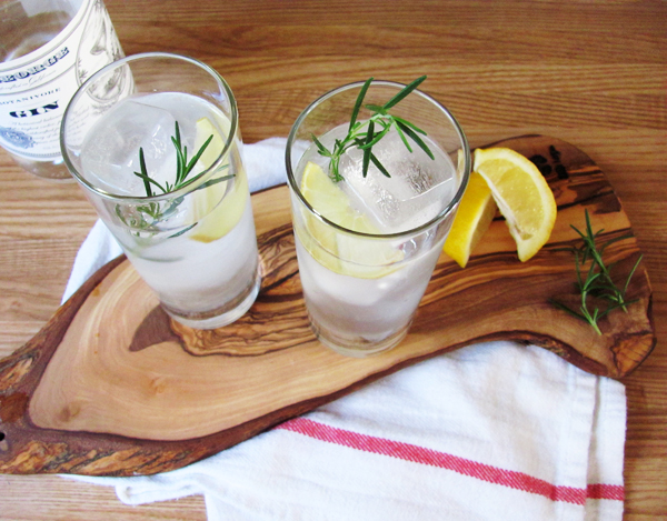Rosemary Gin Fizz via Dressed In Orange