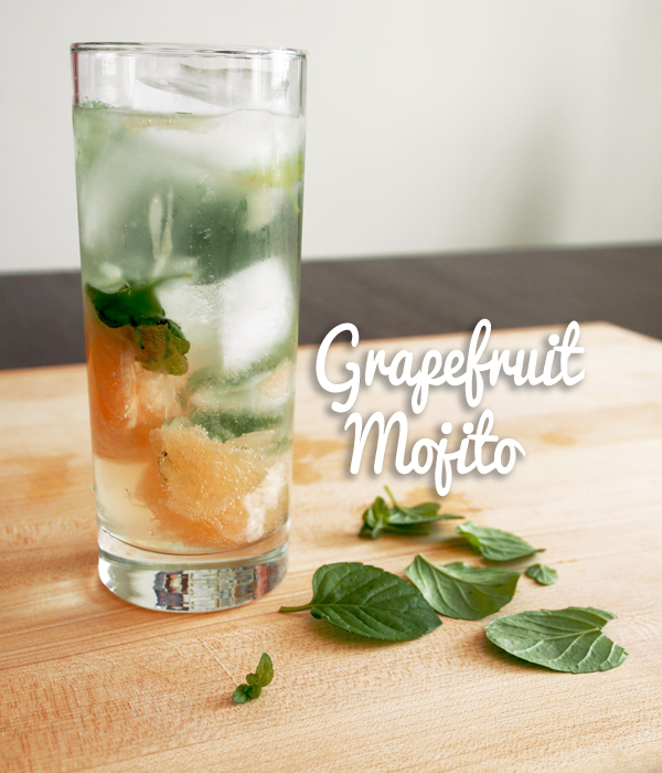 Grapefruit Mojitos | Dressed In Orange
