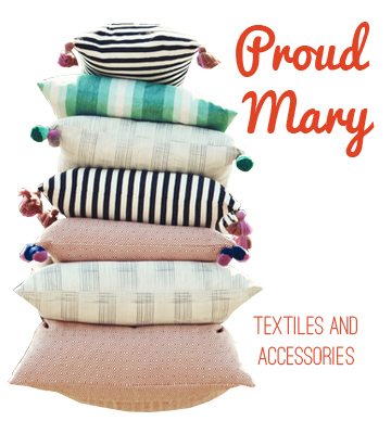 Proud Mary Textiles, via Dressed in Orange