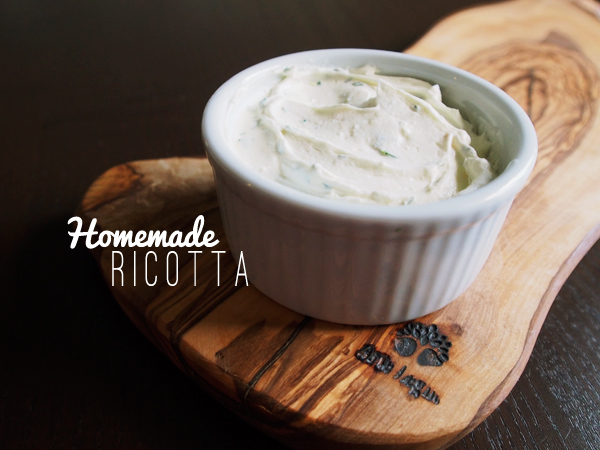 Homemade Ricotta | Dressed In Orange
