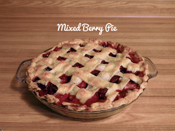 Mixed Berry Pie | Dressed In Orange