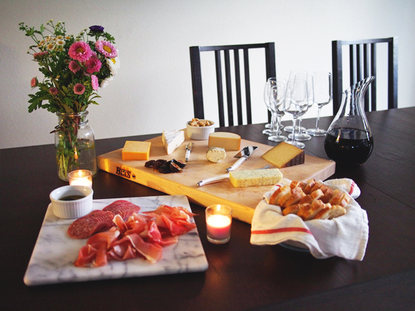 Tips for throwing a perfect cheese party | Dressed In Orange
