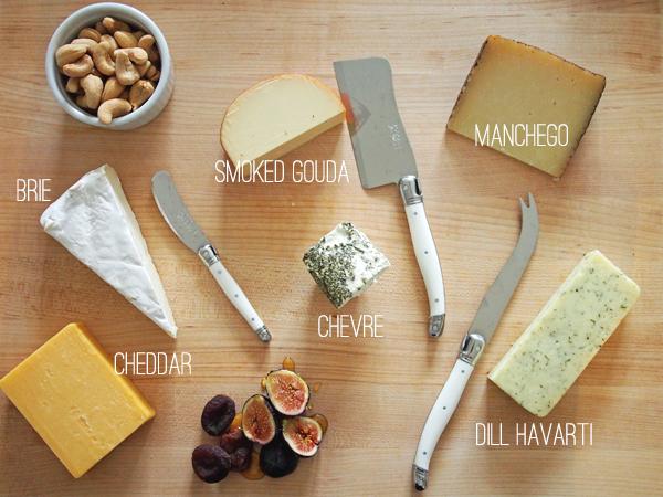 Cheese board | Dressed In Orange