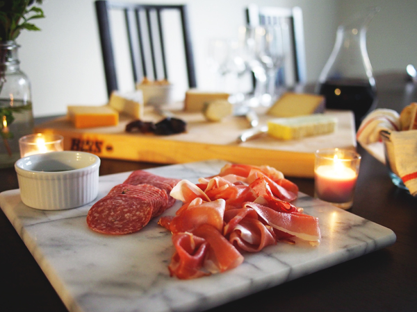 Charcuterie plate | Dressed In Orange