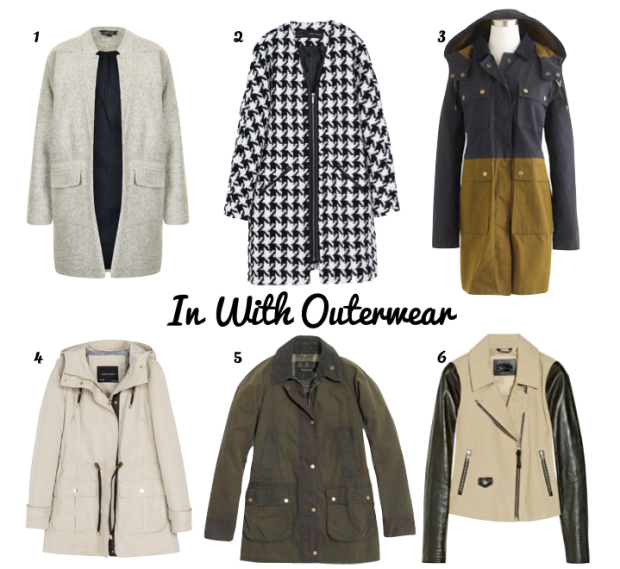 In With Outerwear - our top picks for Fall | Dressed In Orange