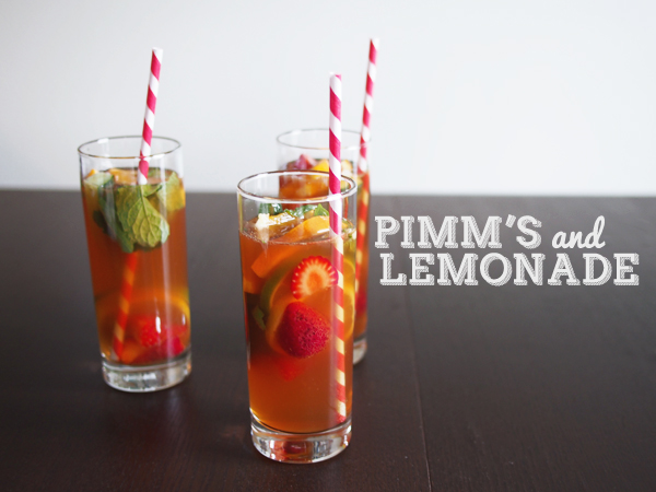 Pimm's & Lemonade | Dressed In Orange