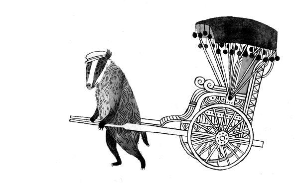 Badger by Carson Ellis