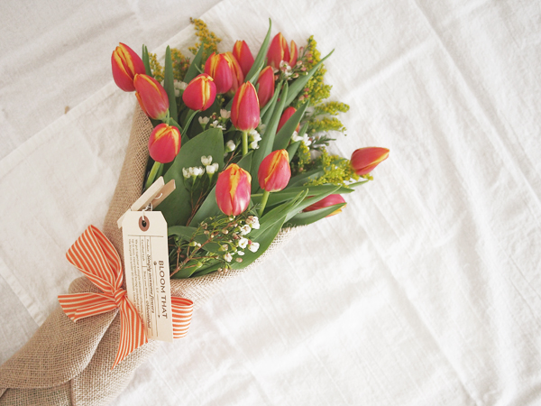SF flower delivery from Bloom That | Dressed In Orange