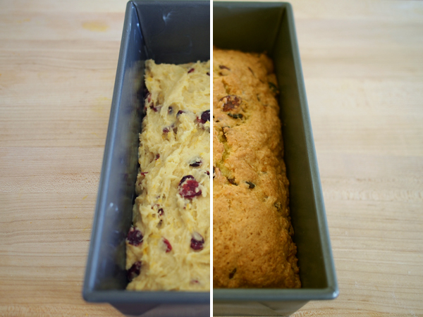 Cranberry Orange Bread | Dressed In Orange