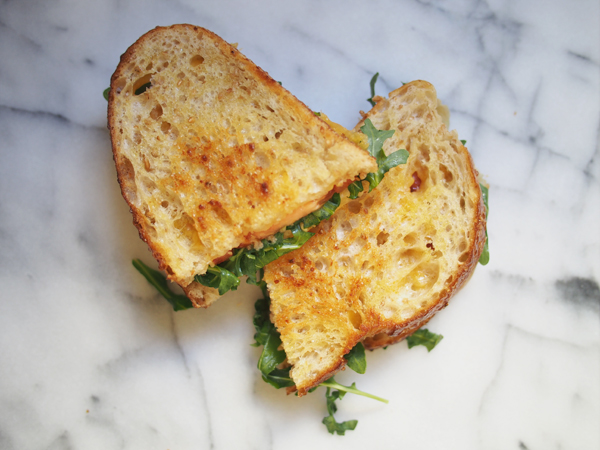 Grown-Up Grilled Cheese | Dressed In Orange