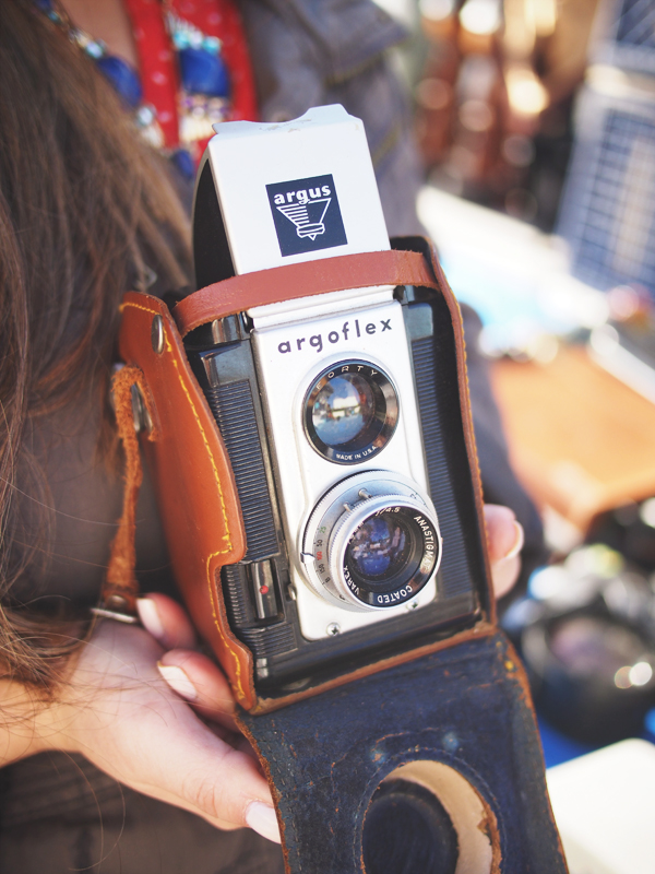 Treasure Island Flea Market | Dressed In Orange