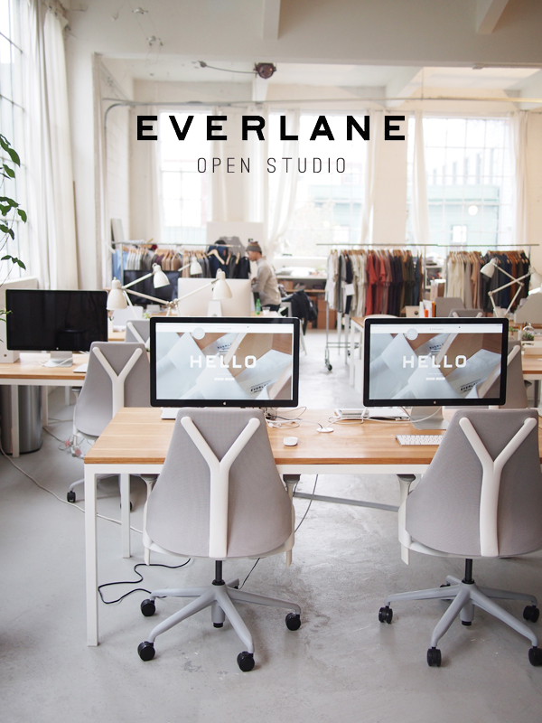 Everlane open studio | Dressed In Orange