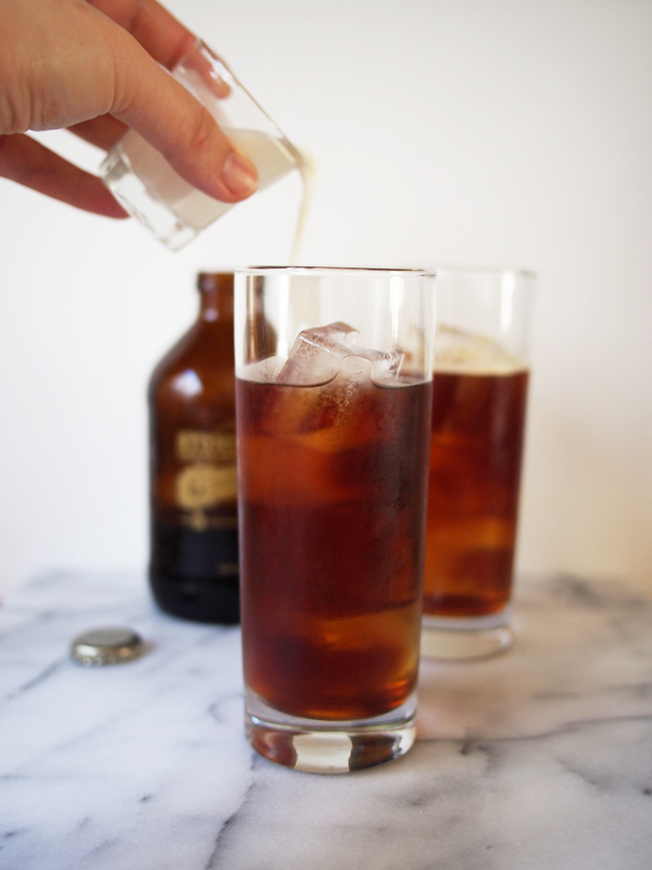Iced Irish Coffee | Dressed In Orange