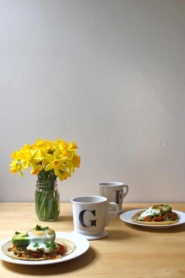Avocado y Huevos Recipe (Baked Egg in an Avocado) | via Dressed in Orange